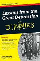 Lessons from the Great Depression For Dummies PDF