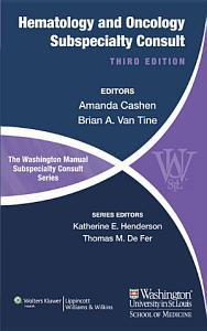 The Washington Manual of Hematology and Oncology Subspecialty Consult PDF