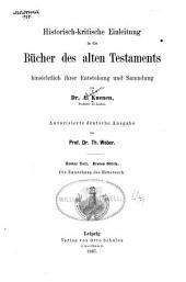 Historisch-kritische Einleitung in die Bücher des alten Testaments: hinsichtlich ihrer Entstehung und Sammlung, Bände 2-3