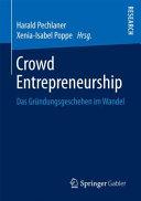Crowd Entrepreneurship PDF