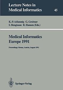 Medical Informatics Europe 1991 PDF