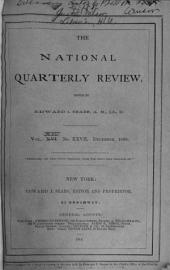 The National Quarterly Review: Volume 14