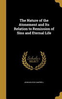 NATURE OF THE ATONEMENT   ITS PDF