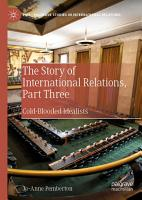 The Story of International Relations  Part Three PDF