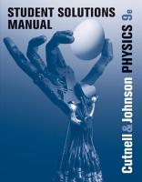 Student Solutions Manual to Accompany Physics  9th Edition PDF