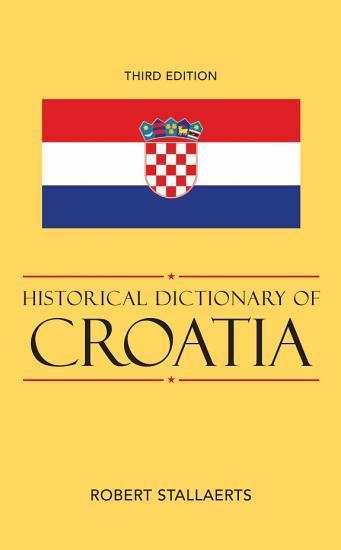 Historical Dictionary of Croatia PDF