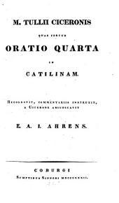 Quae fertur Oratio IV. in Catilinam