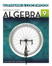 Introductory Algebra: An Applied Approach: Edition 9