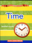 Literacy, Language, and Learning: Early Childhood Themes: Time Teacher's Guide