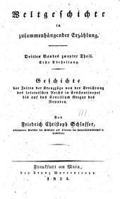 Geschichte der Zeiten der Kreuzzüge: Band 3