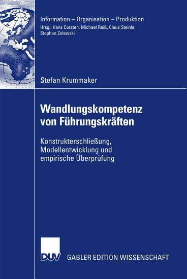 Wandlungskompetenz von F  hrungskr  ften PDF