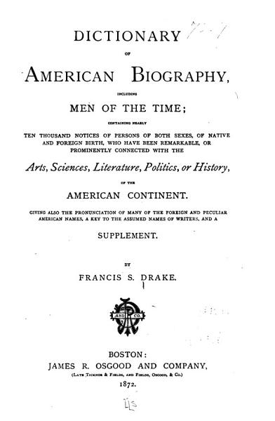 Download Dictionary of American Biography Book