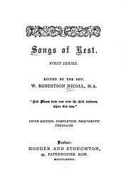 Songs of Rest: First Series