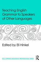 Teaching English Grammar to Speakers of Other Languages PDF