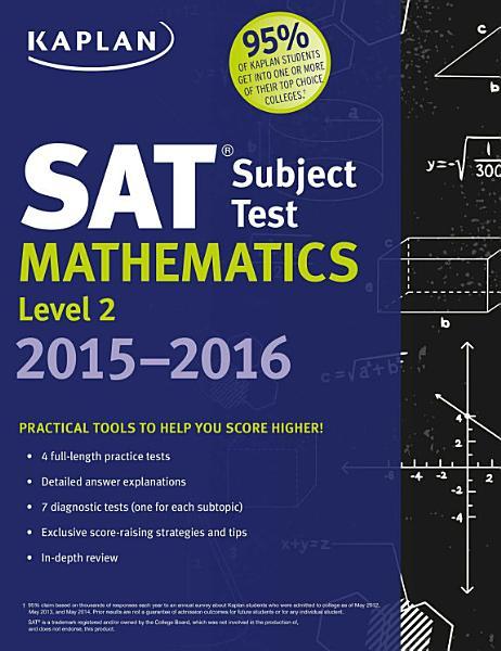 Kaplan SAT Subject Test Mathematics Level 2 2015 2016