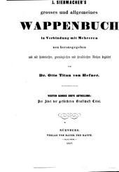J. Siebmacher's grosses und allgemeines Wappenbuch