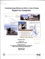 Promoting energy efficiency at HUD in a time of change PDF