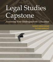 Legal Studies Capstone  Assessing Your Undergraduate Education PDF