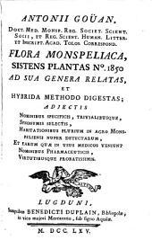 Flora Montspeliaca