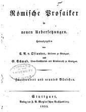 Cajus Plinius Secundus Naturgeschichte: Bände 29-35