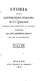 Storia della letteratura italiana: Volume 3