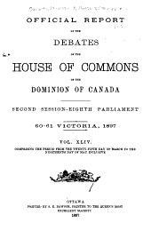 Debates: Volume 44