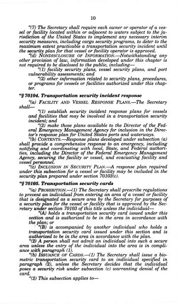 Download Maritime Transportation Security Act of 2002 Book