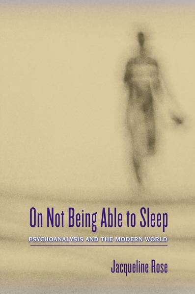 Download On Not Being Able to Sleep Book