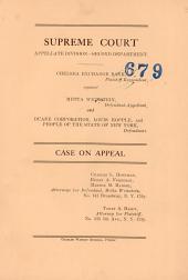 Supreme Court Case on Appeal;