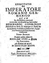 De imperatore Romano Germanico