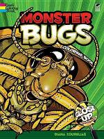 Monster Bugs Coloring Book PDF