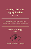 Ethics  Law  and Aging Review  Volume 11 PDF