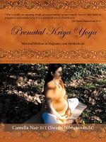 Prenatal Kriya Yoga PDF