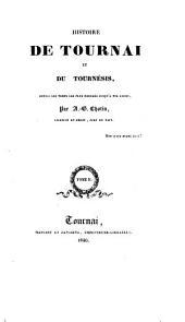 Histoire de Tournai et du Tournesis