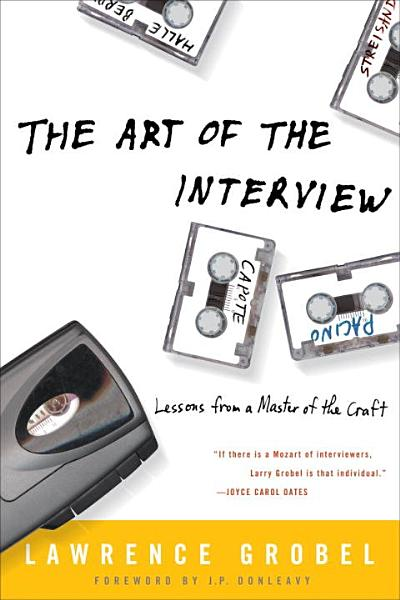 Download The Art of the Interview Book