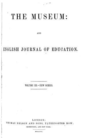 The Museum and English Journal of Education
