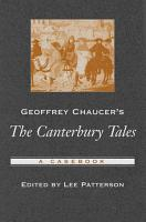 Geoffrey Chaucer s The Canterbury Tales PDF