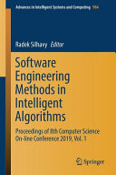 Software Engineering Methods in Intelligent Algorithms PDF