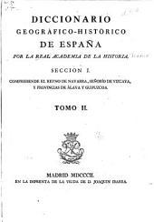Diccionario geogrático-histórico de España: Volumen 2