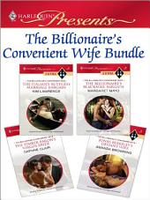 The Billionaire's Convenient Wife Bundle: The Italian's Ruthless Marriage Bargain\The Billionaire's Blackmail Bargain\The Timber Baron's Virgin Bride\Jonas Berkeley's Defiant Wife