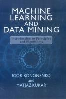 Machine Learning and Data Mining PDF