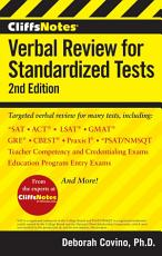 CliffsNotes Verbal Review for Standardized Tests  2nd Edition PDF