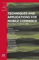 Techniques and Applications for Mobile Commerce