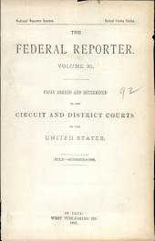 The Federal Reporter: Volume 35