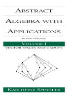 Abstract Algebra with Applications PDF