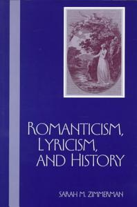 Romanticism  Lyricism  and History PDF