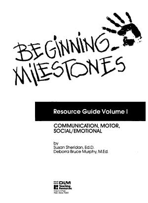 Beginning Milestones