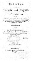 Journal f  r Chemie und Physik PDF