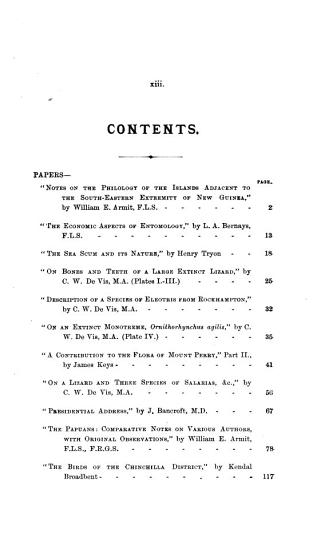 Proceedings of the Royal Society of Queensland PDF