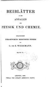 Annalen der Physik: Beiblätter, Band 10